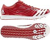 Adidas Adizero Triplo Salto 2Spikes, Rosso (Red), 48