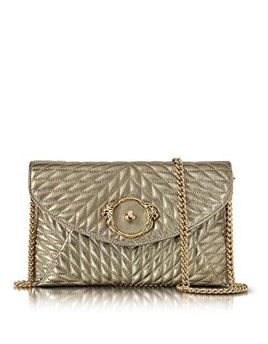 roberto-cavalli-femme-eqb883pn01505501-argent-cuir-sac-porte-epaule