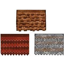 Ellison Europe Sizzix Aldea tejados por Tim Holtz Bigz–Troquel, diseño de flor, ABS plástico/madera compatible con carb/steel-rule hoja/espuma de expulsión de larga duración, multicolor