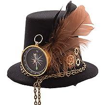 GRACEART Steampunk Hut Frauen Topper Kopfbedeckungen