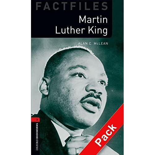 Oxford Bookworms Factfiles: Martin Luther King CD Pack (double CD Pack): Level 3: 1000-Word Vocabulary (Oxford Bookworms Library: Stage 3) by Alan C. McLean (2009-12-20)