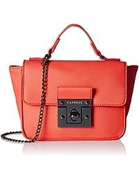 Caprese Sappho Women's Sling Bag (Coral)