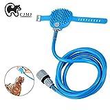 Lava-zampe CJMJ portatile con spazzola per ripulire le zampe del cane da fango e sporco nei giorni di pioggia