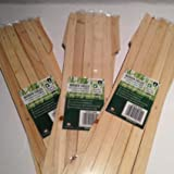 Les jardiniers en bois clair en bois colorées de jardin 3x extensible jardin en bois treillis chaque pièce peut s'Étendre jusqu'à 150x 30cm
