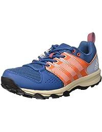 Adidas Galaxy Trail M, Zapatillas de Running para Asfalto para Hombre, Rojo (Azubas/Ftwbla/Narene), 44 EU