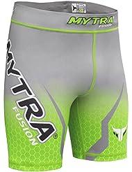 Mytra Fusion Tudo Shorts Compression Shorts MMA Thermal Compression Shorts Crossfit Base Layer Running Short Heat Gear Trunks Vale Tudo