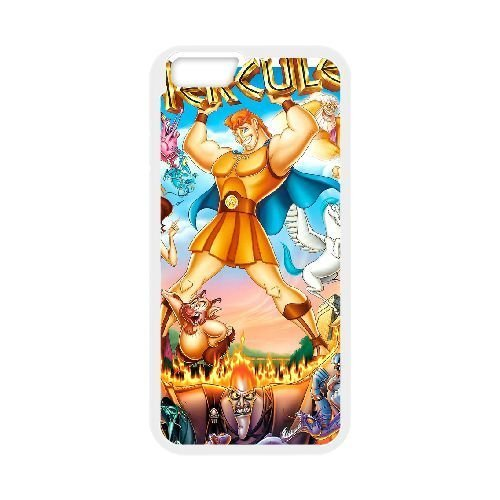 iphone6 4.7 inch White phone case Disney Cartoon Comic Series Hercules QBC3068585