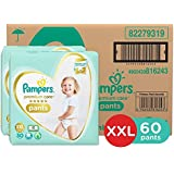 Pampers Premium Care Pants Diapers, XXL, 60 Count