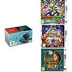 Pack New Nintendo 2DS XL Noir+Turquoise + L'Aventure Layton: Katrielle et la conspiration des millionnaires + Sonic Boom...