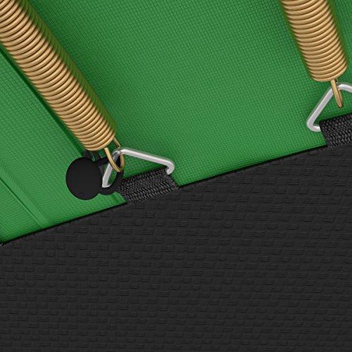 Ampel 24 Trampolin Randabdeckung Deluxe | max. Schutz durch doppelte Dicke | passend für Ø 180 – 185 cm | reißfest | 100% UV-beständig | grün - 5
