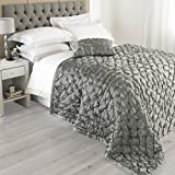 "Riva Paoletti ""Limoges"" Bedspreads, Grey, 265 x 265 cm"