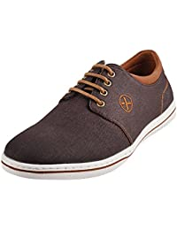 Metro Men Synthetic Flat Shoes (71-9201)