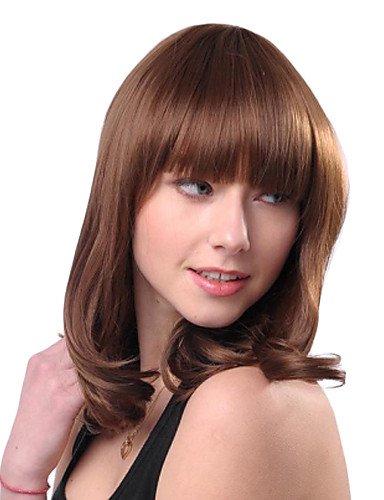 Fashion longue perruque cheveux synthétique de haute qualité