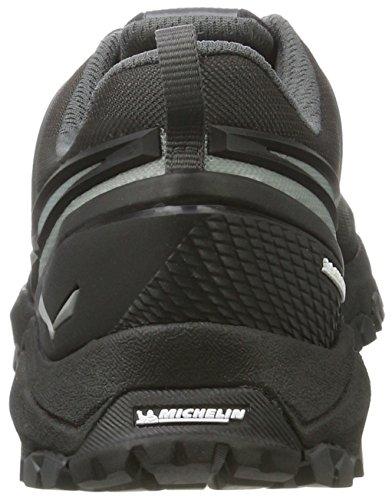 SALEWA Multi Track Gore-Tex Halbschuh, Scarpe Sportive Outdoor Uomo Multicolore (Black/silver)