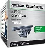 Rameder Komplettsatz, Dachträger SquareBar für Ford Grand C-MAX (116010-08996-17)