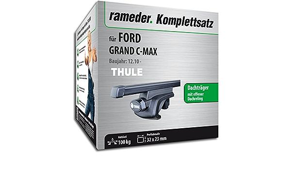 Rameder Komplettsatz Dachträger Squarebar Für Ford Grand C Max 116010 08996 17 Auto