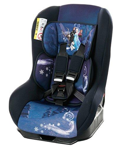 Osann Kinderautositz Safety Plus NT Disney Frozen blau, 0 bis 18 kg, ECE Gruppe 0 / 1, von Geburt bis ca. 4 Jahre, reboard bis 10 kg nutzbar