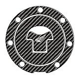 TAPPO DI PROTEZIONE SERBATOIO RESINATO ADESIVO 3D per MOTO (marca moto) ' Honda (Ghiera tappo 7 viti) 11,1cm '