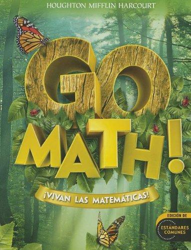 Go Math! Vivan las Matematicas! (Houghton Mifflin Harcourt Spanish Go Math)
