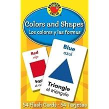 Los Colores y las Formas / Colors And Shapes (Brighter Child Flash Cards)