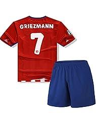 Maillot de football 2016 Antoine Griezmann 7 Pour enfant Rouge