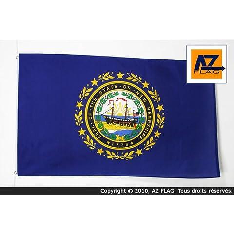 BANDIERA NEW HAMPSHIRE 150x90cm - BANDIERA STATO AMERICANO – USA - STATI UNITI 90 x 150 cm - AZ FLAG