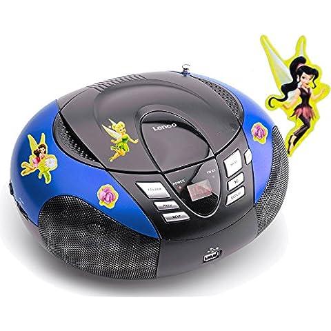 Portable CD player FM AM radio Sintolettore MP3 WMA USB con ricamo (Ricamo Cd)