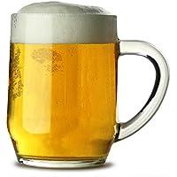 Haworth Beer Tankards 10oz / 280ml - Set of 4   Beer Tankards, Beer Mugs, Half Pint Mugs, Handled Half Pint Glass, Beer Steins