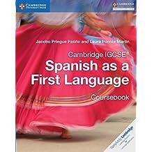 Cambridge IGCSE Spanish as a First Language Coursebook (Cambridge International IGCSE)