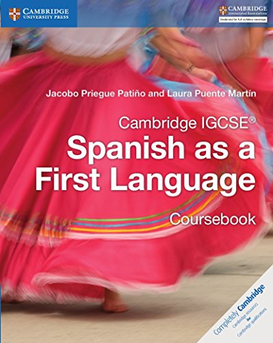 Cambridge IGCSE® Spanish as a First Language Coursebook (Cambridge International IGCSE)
