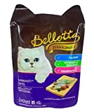Bellotta Cat Food Pouch, Mackerel, 85 g (Pack of 3)
