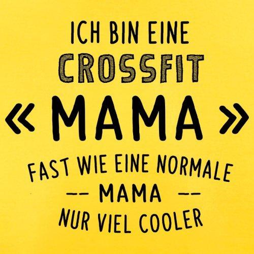 Ich bin eine Crossfit Mama - Herren T-Shirt - 13 Farben Gelb