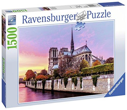 Ravensburger 16345 - Malerisches Notre Dame, 1500 Teile Puzzle