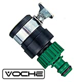 Voche® Kitchen Sink Quick Tap Connector with Jubilee Clip for Garden Hose