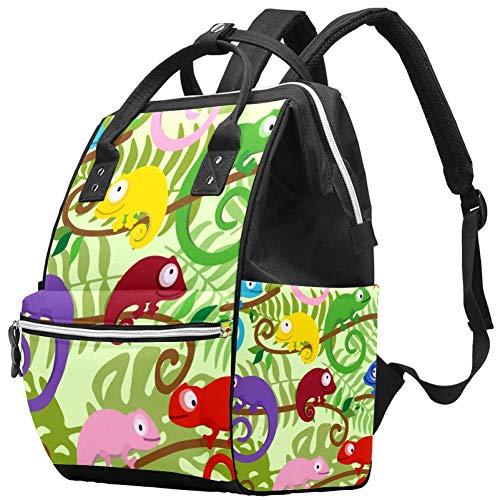 Baseballball in Feuer und Wasser Windeltasche große Kapazität Handtaschen Canvas Schulterrucksack Wickeltasche für Babypflege