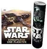 Lgo Star Wars™ Schauplätze und Planeten + Star Wars - Rogue One Poster