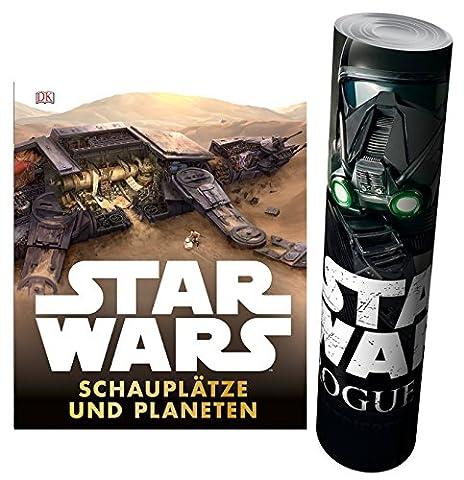 Star Wars™ Schauplätze und Planeten + Star Wars - Rogue One Poster