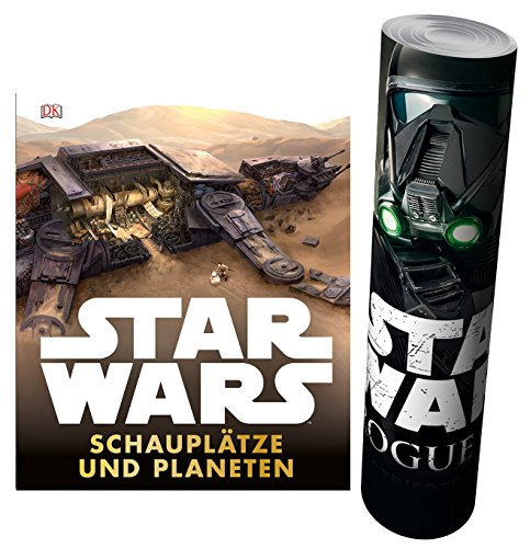 Star Wars™ Schauplätze und Planeten + Star Wars - Rogue One Poster (Lego Star Wars Sets $50)