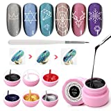 Spider gel set, Saviland Matrix gel con gel Paint design nail art filo disegno gel per Line