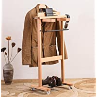 Suitcases / Solid Wood Hotel Hangers / Bedrooms Clothing Store Dryer / Coats Hangers / Bedrooms Clothing Store Thicker Clothes Racks /(46*32*103.2cm)