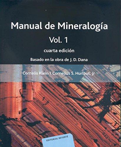 Manual de Mineralogia. Volumen 1