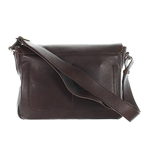 The Bridge Plume Mix Uomo Messenger Sac bandoulière cuir 37 cm braun