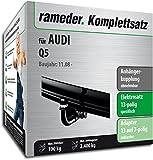 Rameder Komplettsatz, Anhängerkupplung abnehmbar + 13pol Elektrik für Audi Q5 (148087-07534-1)