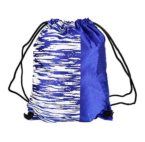 Black Temptation Kordelzug Rucksack, große Kapazität Basketball/Fußball Tasche, Aufbewahrungstasche, E3