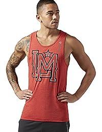 Reebok T-shirt sans manches les Mills Lifestyle Réservoir, moteur Red