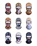 VERTAST balaclava Sturmhaube, 3d Tier aktive Kopfhaube für Skifahren Radfahren Motorradfahren Helm Liner Wandern camping Nackenwärmer