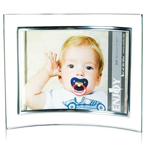 HC-Handel 913478 Bilderrahmen gebogen 18 x 13 cm Glas