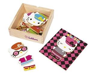 Eichhorn 100003135 - Puzzle de Madera con diseño de Hello Kitty