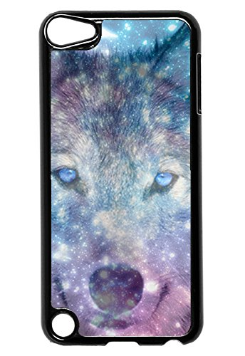 Galaxy Wolf Face-iPod Touch 5Fall-Für iPod Touch 5/5G (5. Generation)-Designer Kunststoff Snap auf Fall