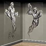 Wand-Deko Set * GEIST * für Halloween oder Motto-Party // Kinder Geburtstag Party Scene Setter Wall Decoration Ghost Oktober Grusel Horror